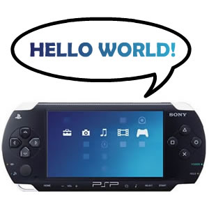 hello world psp
