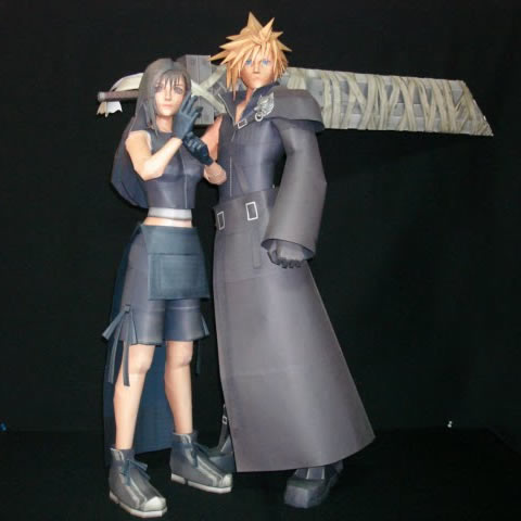 Tifa & Cloud