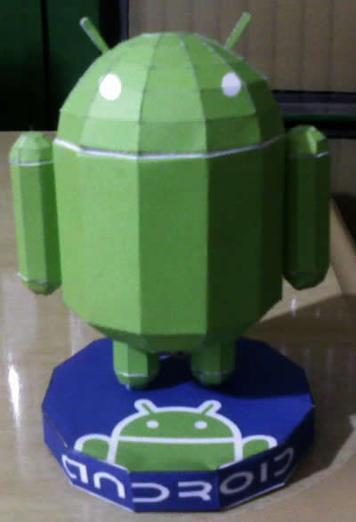 android paperkraft