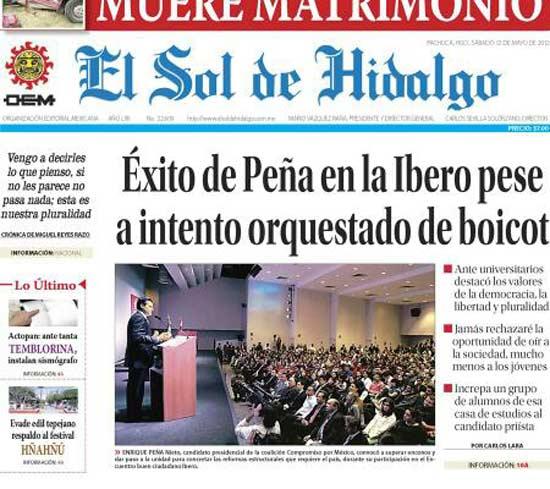 Pol tica for Noticias del espectaculo mexicano del dia de hoy
