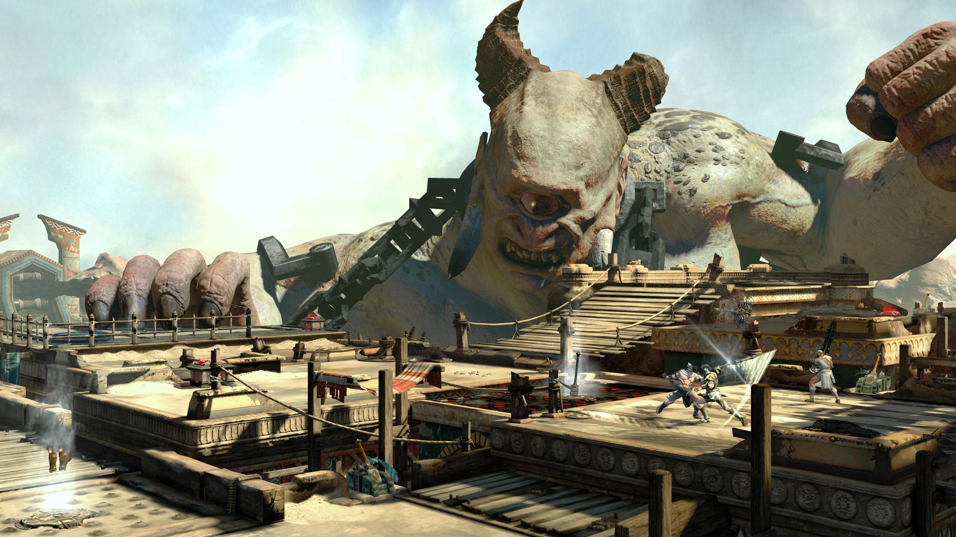 Novedades de god of war ascension for God of war 3 jardines del olimpo