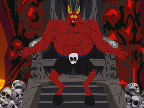 the devil south park